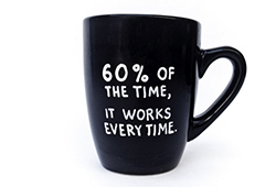 Brian Fantana quote mug by gnarlyink via Etsy