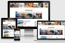 Averie Minimal & Amp Fashion Blogging Theme Free Download