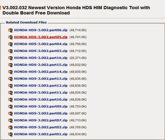 Free Download Honda HDS HIM V3.002.032 Software