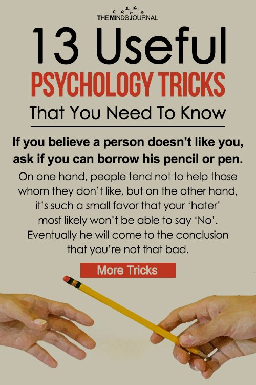 13 Useful Psychology Tricks That You Need To Know