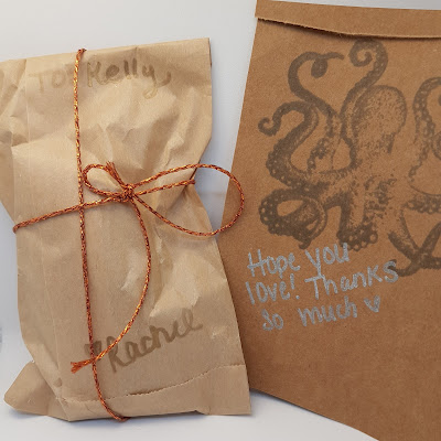 adorable packaging, hand written notes, attention to detail, nail polish