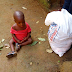 OMG! This poor baby was abandoned at a church in Cross river... photo
