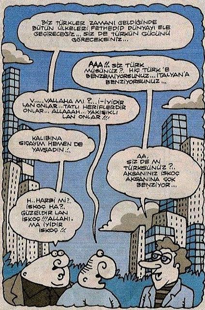 biz türkler karikatür