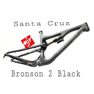 "Frame Santa Cruz Bronson 2 Black Carbon 27,5"" AM all mountain"