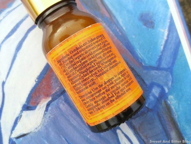 Just Herbs Rejuvenating Beauty ELIXIR Facial Serum with Gotukola Indian Ginseng Review