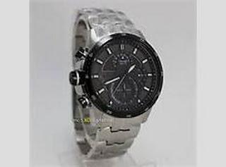jam tangan alexandre christie wanita hitam