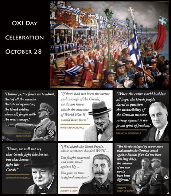 Praise and respect for the heroic Greeks from world leaders