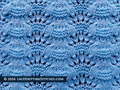 Knitted Lace 15. Free chart