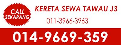Kereta Sewa Tawau J3 0149669359 / 01139663963