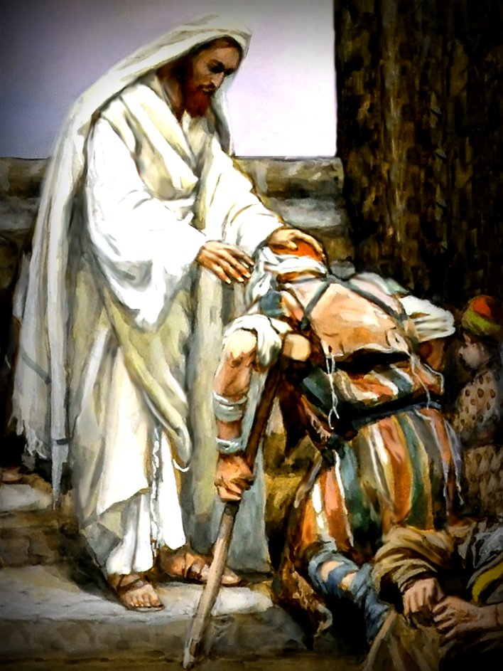 prepare to meet the lord jesus healings picture salvation