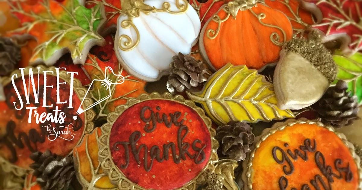 Thanksgiving Edible Cake Topper