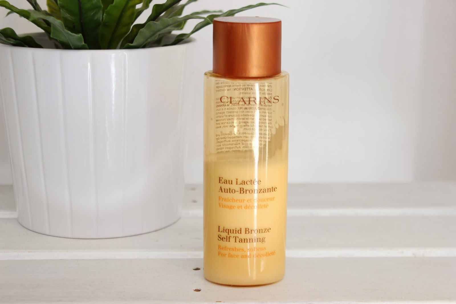 Clarins Liquid Bronze Self Tanning For Face And Décolleté // Review