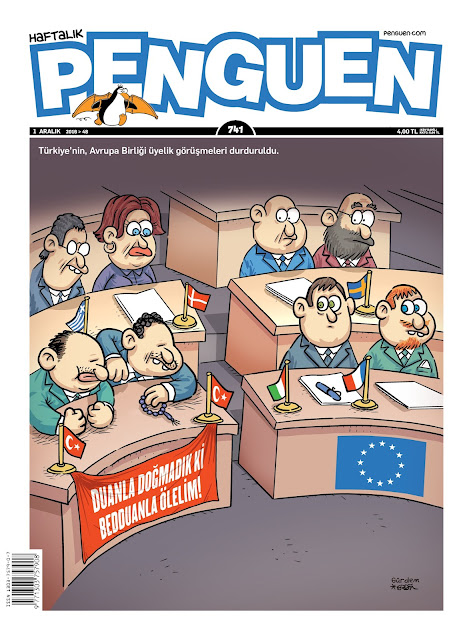 Penguen Dergisi | 1 Aralık 2016 Kapak Karikatürü