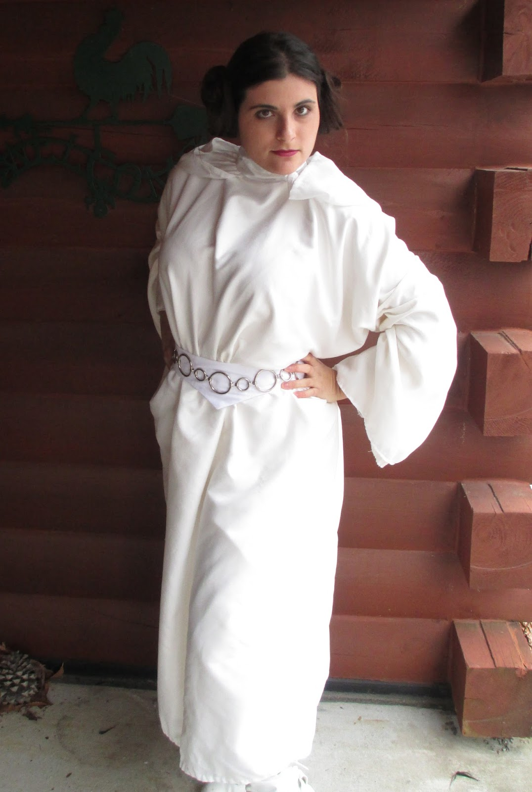 Diy Bedsheet Princess Leia Costume A Tutorial