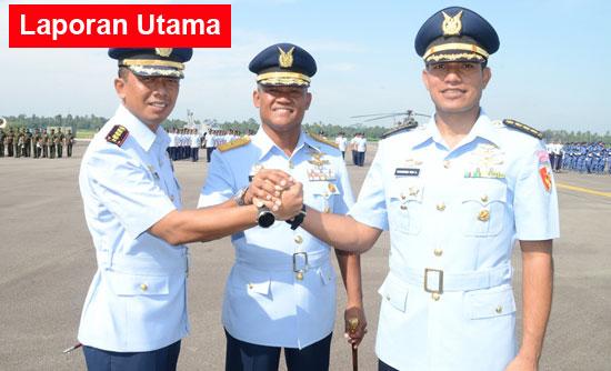 abatan Komandan Wing Udara 7 Lanud Supadio resmi dijabat Kolonel Pnb Setiawan menggantikan Kolonel Pnb M. Yani Amirullah melalui Upacara Militer yang dipimpin langsung oleh Komandan Lanud Supadio Marsekal Pertama TNI Minggit Tribowo, S.IP di Main Apron Lanud Supadio, Rabu (23/1)