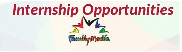 Internships family media TV 2019