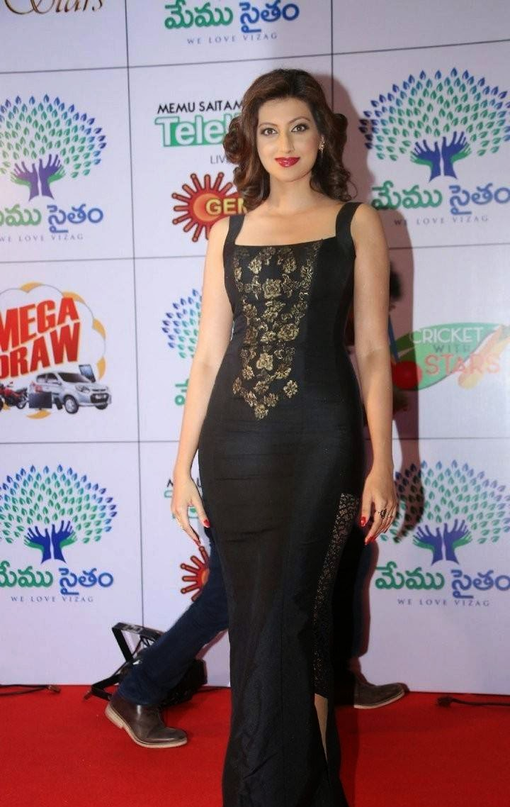 Hamsa Nandini Photos, Hamsa NandiniHot Hd Pics in Black Dress