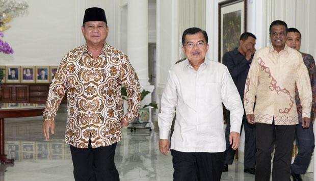 Sebut Indonesia Terancam Bubar 2030, JK Sebut Pidato Prabowo Fiktif