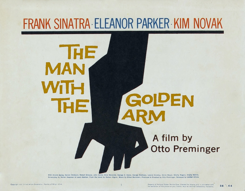 Saul Bass. Doctor Ojiplatico. The man with the golden arm