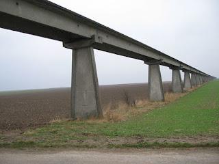 Aerotrain test track