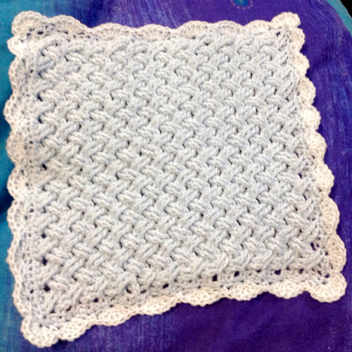 Celtic Weave Blanket - Free Pattern