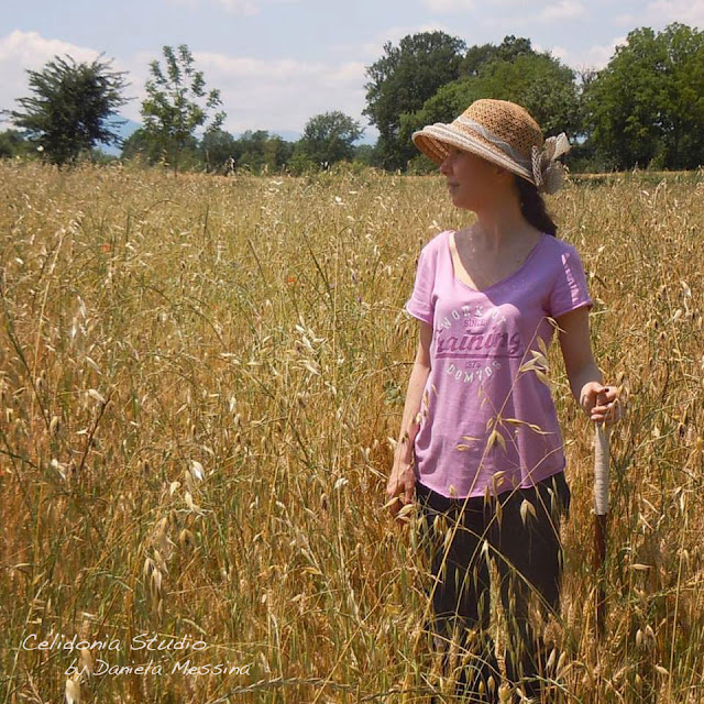 Celidonia in the Country - tra le spighe di grano