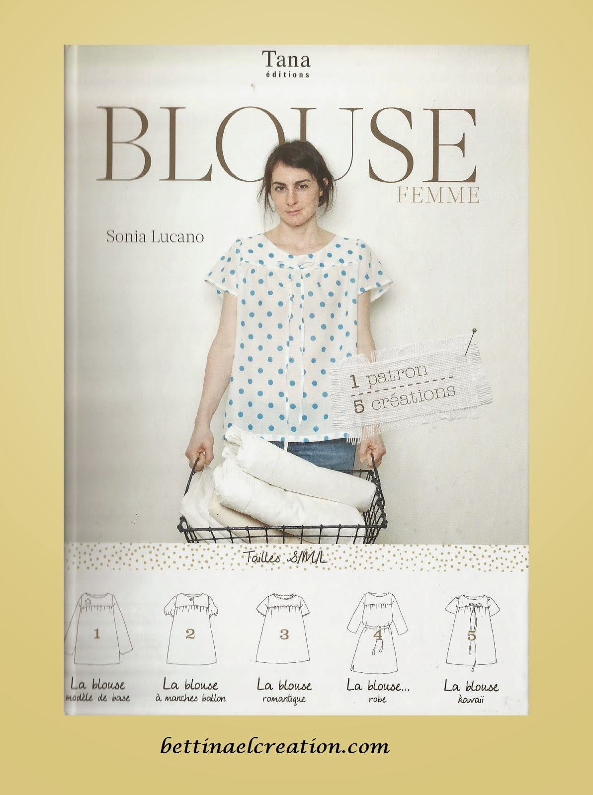 diy cr er soi m me ses v tements une blouse pour femme. Black Bedroom Furniture Sets. Home Design Ideas