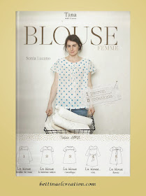 bettinael passion couture made in france diy cr er soi m me ses v tements une blouse pour femme. Black Bedroom Furniture Sets. Home Design Ideas