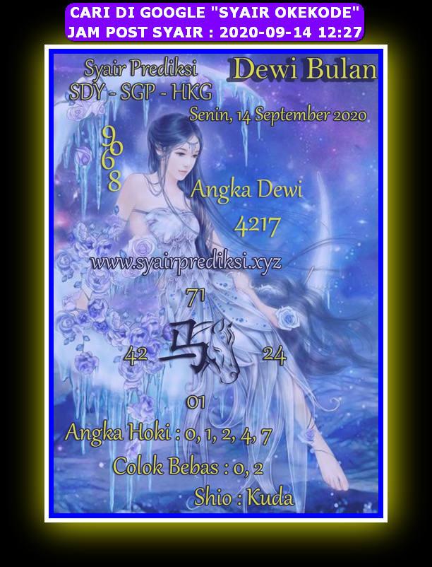 Kode syair Hongkong Senin 14 September 2020 275