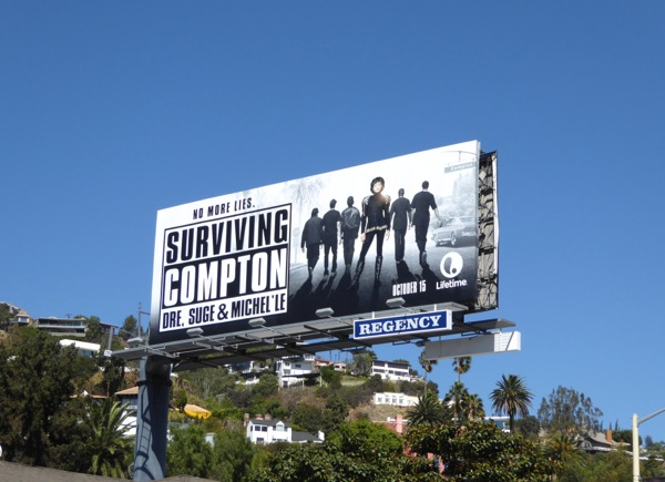 Surviving Compton TV movie billboard