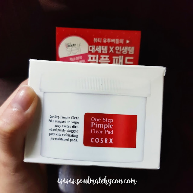 Review; COSRX's One Step Pimple Clear Pad
