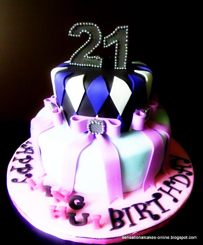 Purple Birthday Cakes In Singapore
