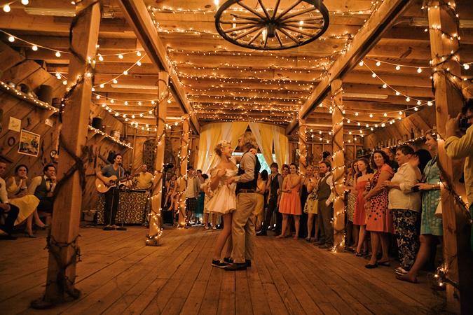 Wyoming Weddings: Design Inspiration: Barn Dance!
