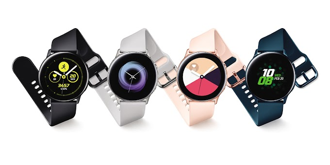 Samsung Galaxy Watch Active announced