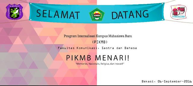 FKSB meriahkan PIKMB dengan MENARI