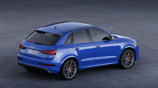 The new 367PS Audi RS Q3 performance