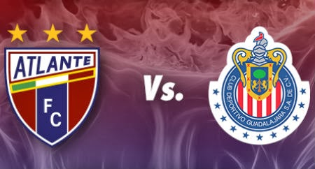 Atlante vs Guadalajara en Vivo
