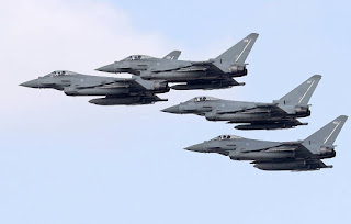 Jet Tempur Angkatan Udara Kerajaan Inggris