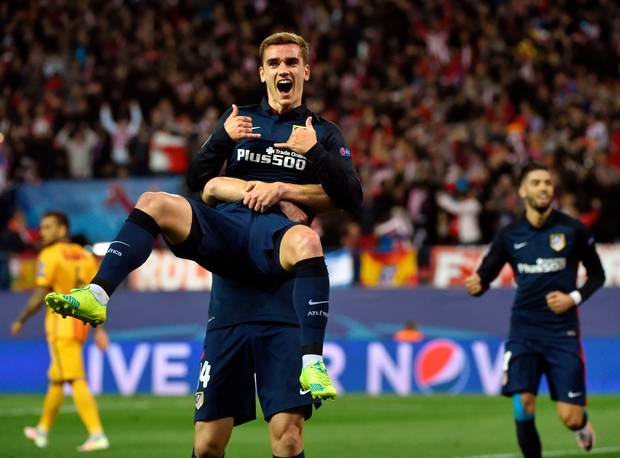 Hasil Atletico Madrid vs Barcelona Video Streaming Liga Champions Tadi Malam