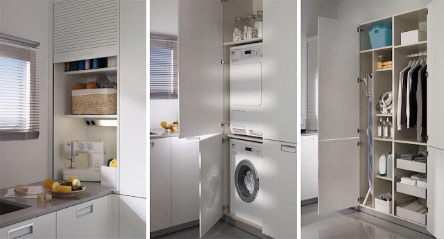 Un lavadero bien organizado cocinas con estilo for Planos de cocina con lavadero
