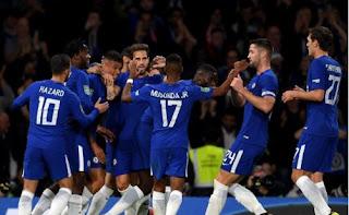 Chelsea vs Nottingham Forest 5-1 Highlights - Piala Liga