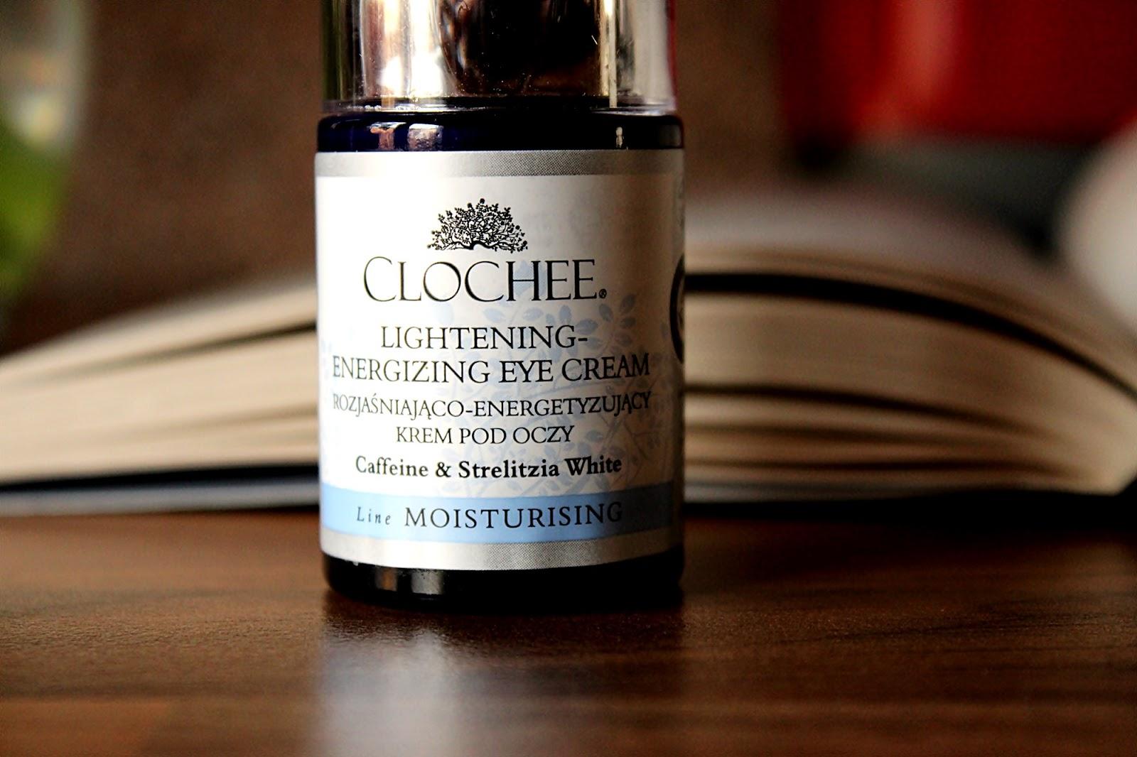 Clochee, rozjaśniająco energetyzujący krem pod oczy