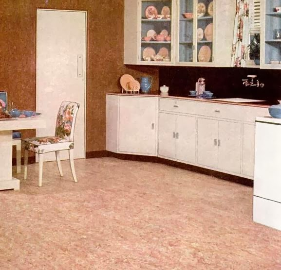 I Cried For You On The Kitchen Floor: My Pretty Baby Cried She Was A Bird: Nairn Linoleum Floors