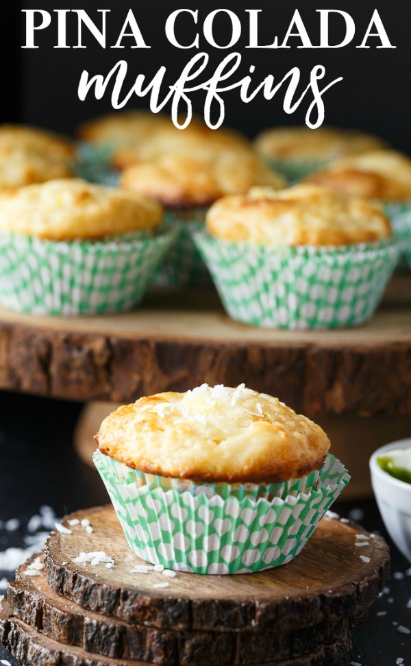 Pina Colada Muffins from Simply Stacie