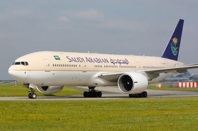 Saudia Arabian Airlines Dinobatkan Maskapai Terbaik