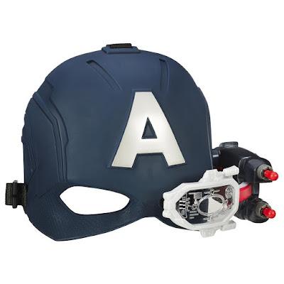 TOYS : JUGUETES - MARVEL   Capitán América 3 Civil War - Casco Electrónico con visor  Hasbro B5787 | PELICULA 2016 | A partir de 5 años  Los Vengadores | CAPTAIN AMERICA | Scope Vision Helmet  Comprar en Amazon España & buy Amazon USA