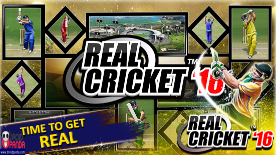 Android Game Real Cricket 16