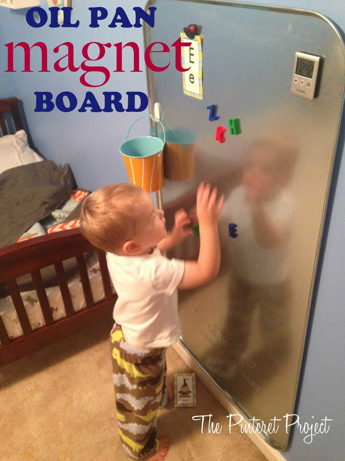 Oil Pan Magnet Board The Pinterest Project