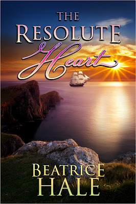 """The Resolute Heart"" author Beatrice Hale, cover designer: Kura Carpenter"
