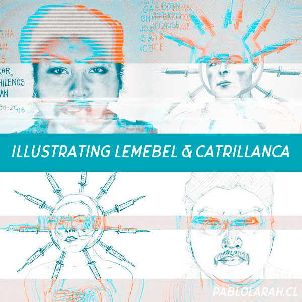 Illustrating Lemebel & Catrillanca